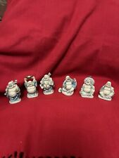More details for 6 small buddha ornaments health, wealth