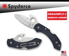 Spyderco Folding Knife DRAGONFLY 2 EMERSON OPENER VG-10 FRN Handle C28PGYW2