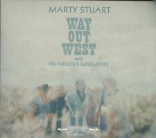 """==> Marty Stuart & his Fab. Superlatives """" Way out West """" neue Country-CD 2017"""