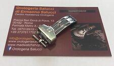 Fibbia deploy Zenith acciaio 16mm originale