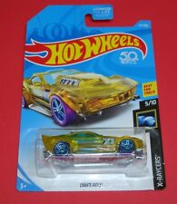 🚗 New 2018 Hot Wheels 177/365 X-RAYCERS Yellow Drift Rod 5/10 Best for Track