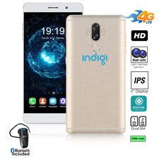 "UNLOCKED ANDROID 7.0 Nougat 4G LTE 6"" IPS Octa-CORE DUALSIM PHONE + 32gb microSD"