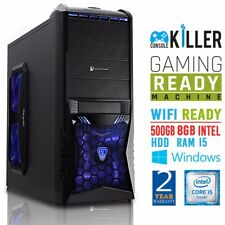 Console Killer Gaming PC,Intel Core i5-2300,8GB DDR3,500GB HDD,FirePro 3800