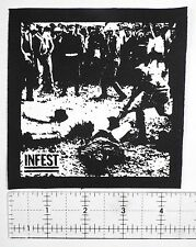 Infest Patch Grindcore Metal Misery Index Yacopsae Totalitar Magrudergrind Punk