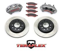 TeraFlex Front Big Brake Kit w/ Slotted Rotors 07-17 Jeep Wrangler JK 4303420