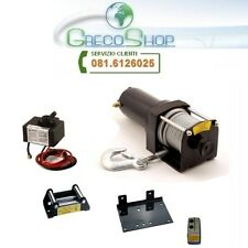 Verricello/Argano/Paranco elettrico 12 Volt 3500 lbs con telecomando wireless