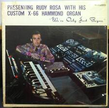 RUDY ROSA we've only just begun LP VG+ Private Electronic Space Age Organ RARE