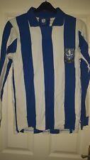 Mens Football Shirt - Sheffield Wednesday FC - SWFC Official Retro Replica 1970s
