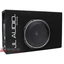 """JL Audio ACP110LG-TW1 10"""" MicroSub + Amplified Subwoofer Ported-Enclosure System"""