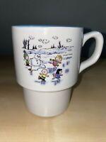 Orca Coatings Peanuts Coffee Tea mug- Ice skating design