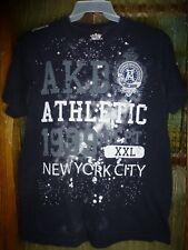 akademiks AKDMKS Athletic T-shirt New York City Black Size XL