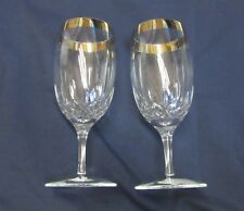 Set of Two NEW Waterford Crystal LISMORE ESSENCE PLATINUM Iced Beverage Glasses