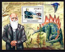 Mozambique 2009 oiseaux Charles Darwin bloc neuf ** 1er choix