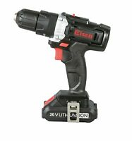 "US STOCK 3/8"" 20V Cordless Impact Drill 2-Speed 21+1 Position Keyless Clutch"
