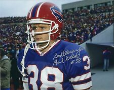 Autographed Mark Kelso Buffalo Bills 8x10 photo - w/Coa