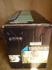 Lexmark 15G042C Cyan Toner Cartridge Genuine