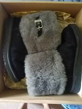 UGG boots classic cardy gray short size 6