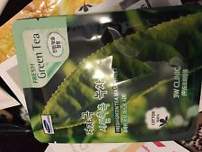 3W Clinic Fresh Green Tea Mask Sheet for softer, fresher skin face mask