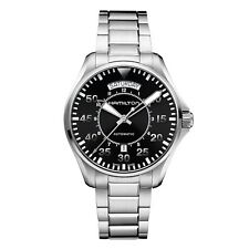 Hamilton Khaki Aviation Pilot Day Date Auto Mens Automatic Watch H64615135