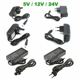 AC TO DC5V 12V 24V 1A 2A 3A 5A 10A For LED Strip CCTV Came Power Supply Adapter