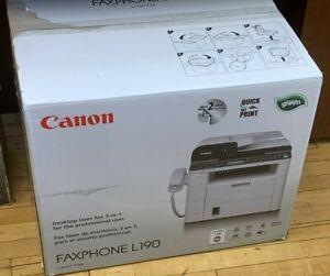 CANON L190 - LASER FAX - MONOCHROME - PRINT, FAX, COPY