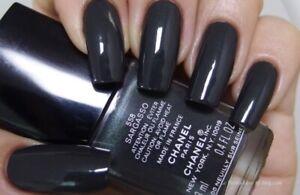 Authentic Chanel nail polish 558 sargasso limited edition Dark Green Grey Gray
