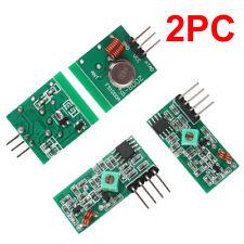 Wholesale 433Mhz RF Transmitter Receiver For Arduino Raspberry Pi Wireless NEW