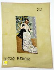 Lindhorst Tapisserie Needlepoint Wall Tapestry Dance in the City Renoir Painting