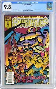 S235. GARGOYLES #1 Marvel CGC 9.8 NM/MT (1995) 1st Comic App. of The GARGOYLES