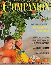 1956 Woman's Home Companion May-Frank Sinatra; Am I pushing my husband too hard?