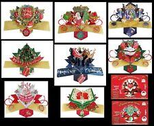POP UP - CHRISTMAS - CARDS  ~ Beautiful Pop-up Card choice of Design