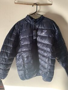 St Louis Blues Fanatics Polyester Puffer Jacket Black Men Size 2XL
