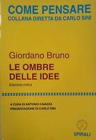Le Ombre Delle Idee,Giordano Bruno  ,Edizioni Spirali,