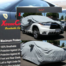 2016 2017 2018 2019 TOYOTA HIGHLANDER BREATHABLE CAR COVER W/MIRROR POCKET GREY
