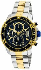 Invicta 22415 Mens Pro Diver Quartz Stainless Steel Casual Watch, Color:Two Tone
