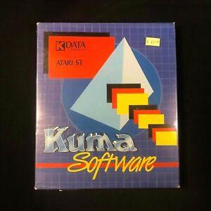 Vintage Kuma Computers Ltd. K-DATA ATARI ST GEM Database Software Package Sealed
