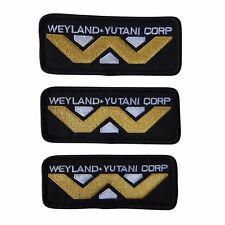 Alien Weyland-Yutani Embroidered Patch Set of 3