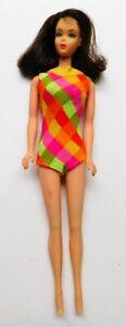Vintage 1969 Mod TNT Brunette Barbie Flip Twist n Turn Doll
