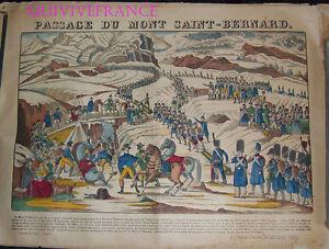 PASSAGE DU MONT SAINT-BERNARD - IMAGE D'EPINAL PELLERIN - NAPOLEON