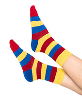 Rainbow Calzini spogliato Tumblr Grunge fashion kawaii alla caviglia Goth cotone Calzino