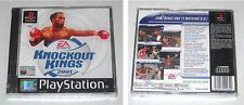 PS1 Playstation 1 KNOCKOUT KINGS 2001 - ITALIANO PsOne PAL NUOVO Boxe boxing