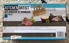 Kitchen Artist set aperitif et fromage Neuf