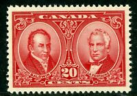 Canada 1927 Historical Issue 20¢ Red Scott # 148 MNH H838
