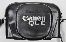 Original Canon QL E Camera Case in Leather Made in Japan Rare Canonet