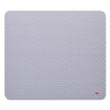 3M Precise Mouse Pad Nonskid Back 9 x 8 Gray/Bitmap MP114BSD1