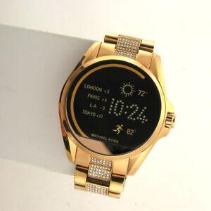 Michael Kors Access Touchscreen MKT5018 Bradshaw Smartwatch Stainless link Band