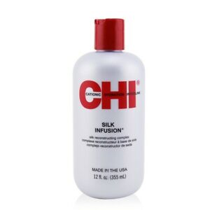 NEW CHI Silk Infusion (Silk Reconstructing Complex) 355ml Mens Hair Care