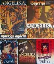 ANGELIQUE Czech A3 movie posters x5 set R86 MICHELE MERCIER MINT