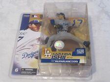 McFarlane MLB Series 6 Kazuhisa Ishii Chase Variant Dodgers Gray Grey Figure