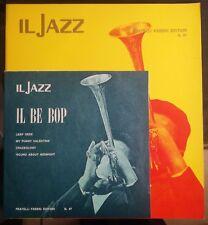 """Il Jazz N. 47 Fratelli Fabbri Magazine + 7"""" Ep Il Be Bop 1969 Charlie Parker"""